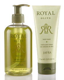 Jafra Royal Hand Set Olive