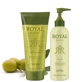 Jafra Royal Olive Body-Set