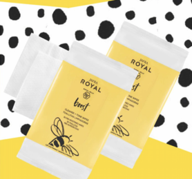 Jafra Royal Boost Cleanse + Tone Wipes duo set