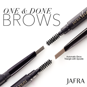 Jafra Automatic Triangle With Spoolie Soft Brunette