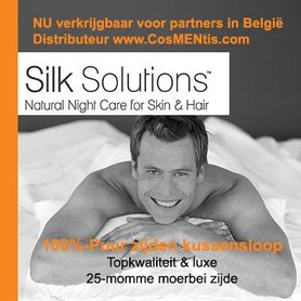 100% zijden kussensloop Silk Solutions