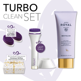 Jafra Royal Jelly Turbo Clean Set