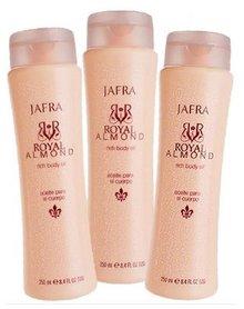Jafra Body Royal Almond Oil set 2+1 GRATIS