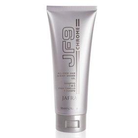 Jafra JF9 Chrome All-Over Hair & Body Shower Gel For Men