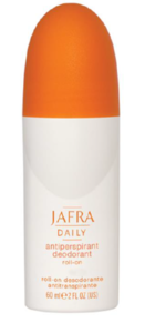 Jafra Deodorant Gentle Effective Anti-perspirant  Roll-On